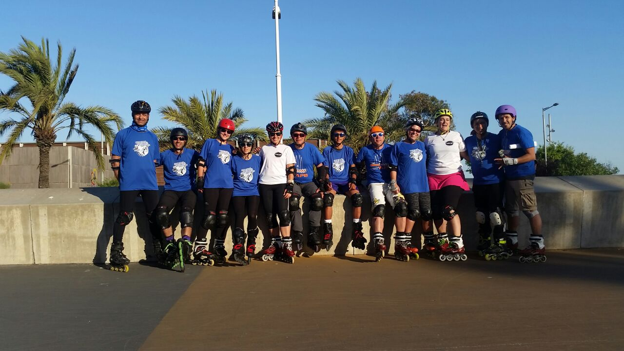 BCN Group on Skates