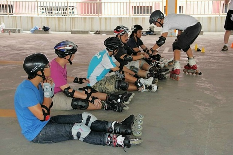 Inline skating class at Gurney Paragon | Things to do in ...